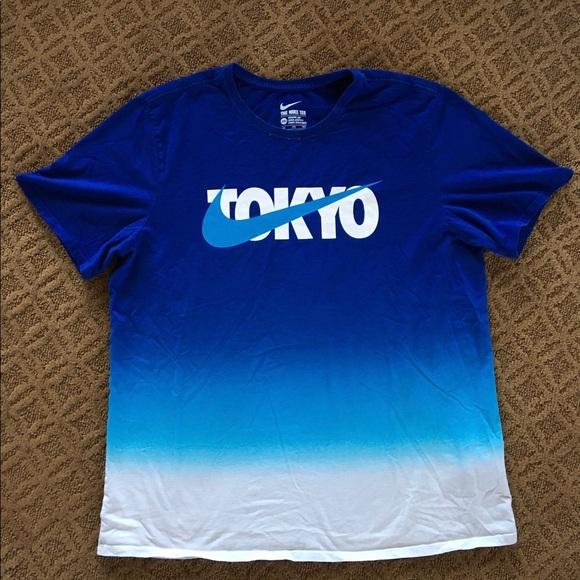 70d4c6f68578f Rare Nike Tokyo TShirt Niketown Exclusive